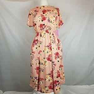 Reb & J floral dress NWT